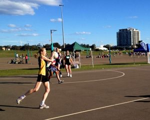 My strength on the netball court diminished very noticably.