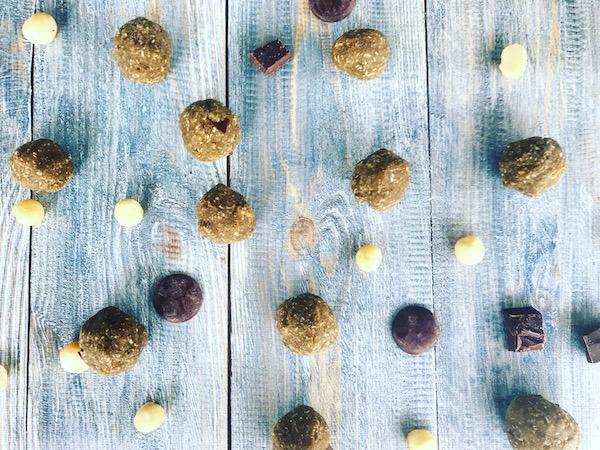 choc chip fudge balls
