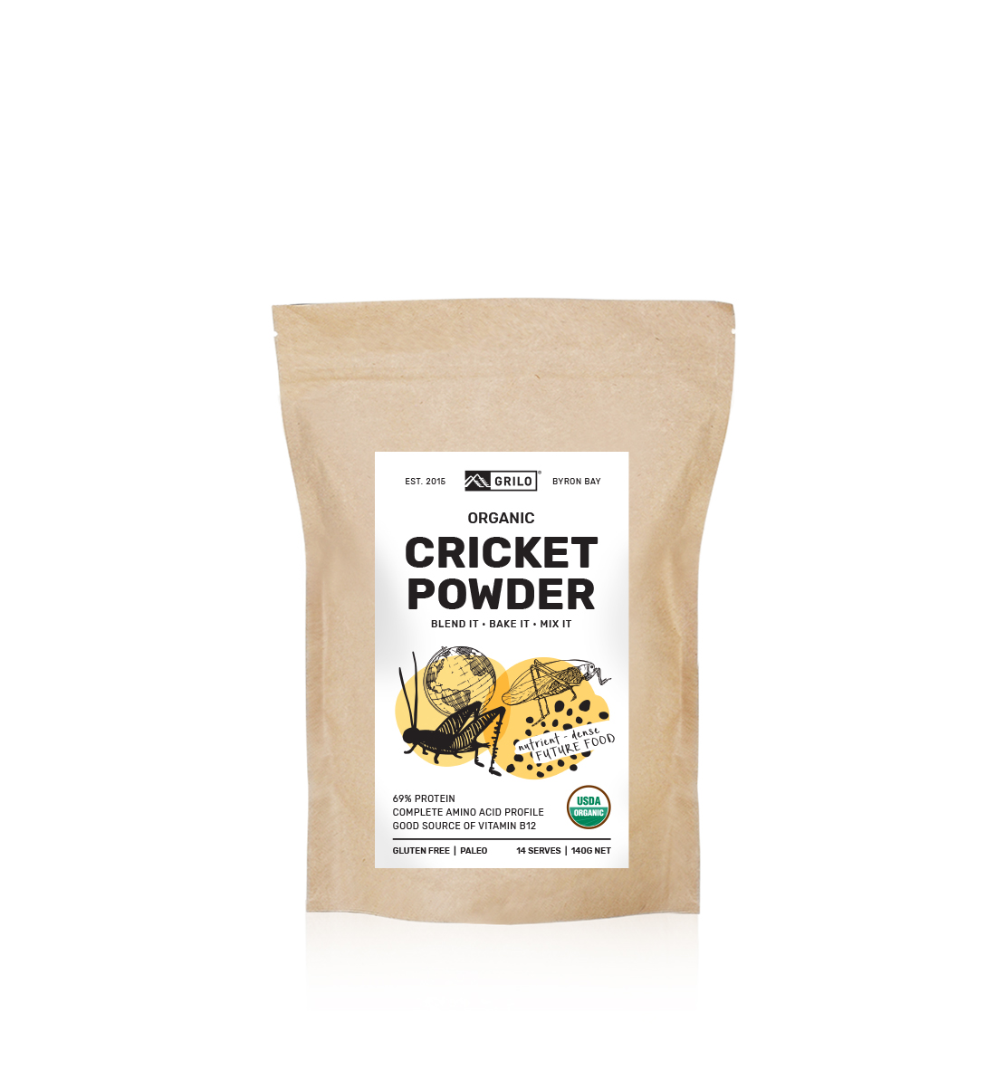 Grilo Cricket Powder